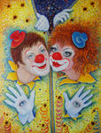 Светлана Кисляченко Jam-Art - Clowns Sun