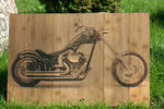 Murkafoto Woodenphotos - Bike Foto in legno
