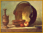 Classical Indian Art Gallery - Da - J . B . S . Chardin - Stampa