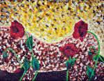 Luxo Fine Art - Astratto Figurato - Poppies Bellezza 4