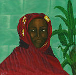 Vicki Branch Art - Nabuli -Market Girl-