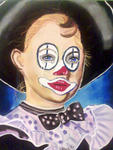 Chris, Dessinatrice, Portraitiste - il clown weeper
