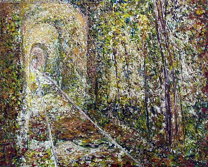 Opere D'arte >> Lazarevic Sinisa >> Tunnel of Love