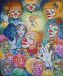 Svetlana Kislyachenko - Clown e Barbie