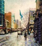 Fred Himmelsbach - Swanston Strada , Melbourne