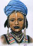 Arts And Dogs - Giovane wodaabe Man