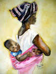 Inspirational Paintings - MALAWI madre