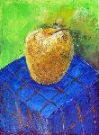 Ahmedov Zakir - Apple2014year15x11in  originale  pittura  olio  su  tela  1500$