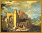 Classical Indian Art Gallery - a memoria -   David Teniers il Giovane  -   stampa