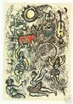 James Stow - marc chagall - les saltimbanques - Litografia