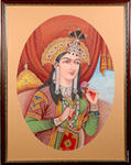 Classical Indian Art Gallery - IMPERATRICE MUMTAZ MAHAL