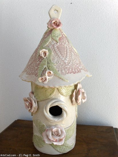 Opere D'arte >> Pegi E. Smith >> Birdhouse