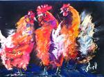 Inspirational Paintings - Partito di gallina