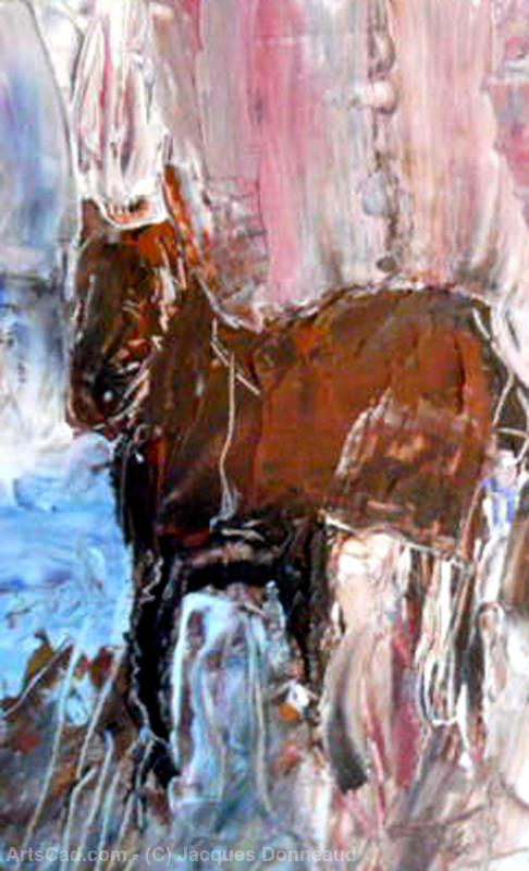 Opere D'arte >> Jacques Donneaud >> Brown cavallo